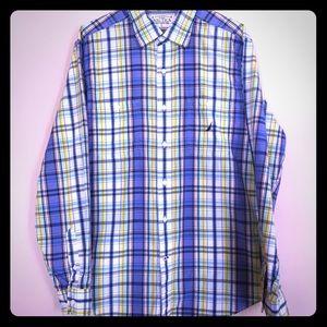 Nautica Casual long sleeve men's shirt